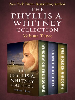 cover image of The Phyllis A. Whitney Collection Volume Three