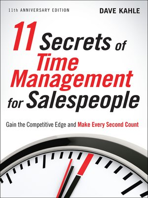cover image of 11 Secrets of Time Management for Salespeople