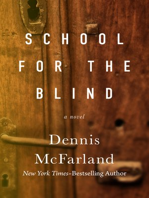 cover image of School for the Blind