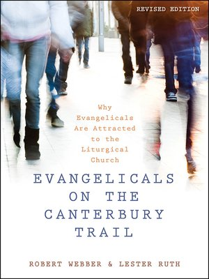 cover image of Evangelicals on the Canterbury Trail