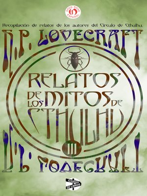 cover image of Relatos de los mitos de Cthulhu