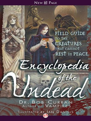 cover image of Encyclopedia of the Undead