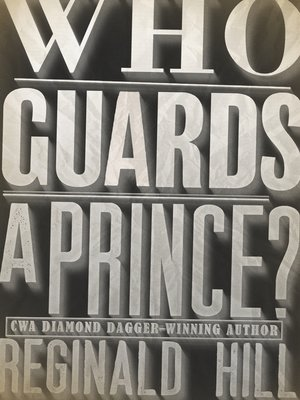 cover image of Who Guards a Prince?