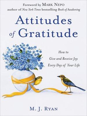 cover image of Attitudes of Gratitude