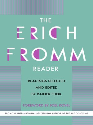 cover image of The Erich Fromm Reader