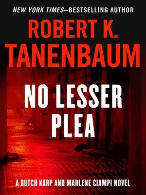 cover image of No Lesser Plea