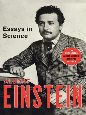 cover image of Essays in Science