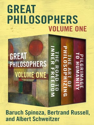cover image of Great Philosophers Volume One