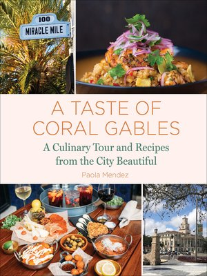 cover image of A Taste of Coral Gables