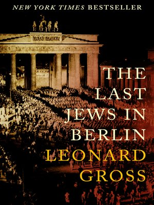 cover image of The Last Jews in Berlin
