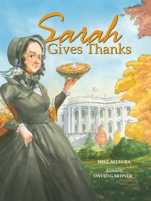 cover image of Sarah Gives Thanks
