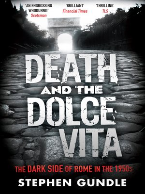 cover image of Death and the Dolce Vita