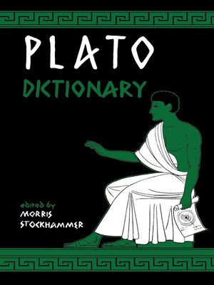 cover image of Plato Dictionary