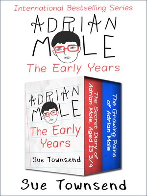 cover image of Adrian Mole, the Early Years