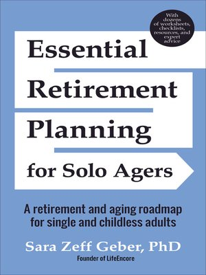 cover image of Essential Retirement Planning for Solo Agers