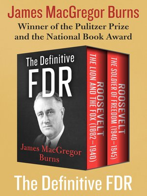 cover image of The Definitive FDR