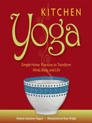 cover image of Kitchen Yoga