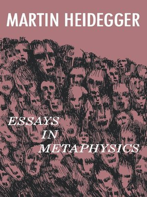 cover image of Essays in Metaphysics