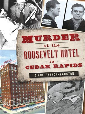 cover image of Murder at the Roosevelt Hotel in Cedar Rapids