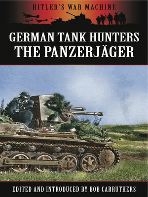 cover image of German Tank Hunters