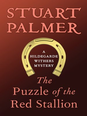 cover image of Puzzle of the Red Stallion