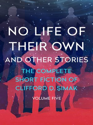 cover image of No Life of Their Own and Other Stories