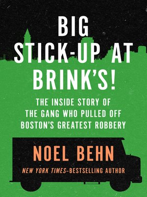 cover image of Big Stick-Up at Brink's!