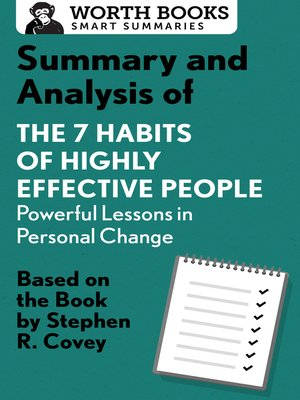 cover image of Summary and Analysis of 7 Habits of Highly Effective People