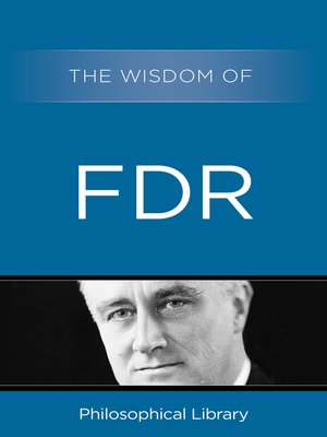 cover image of The Wisdom of FDR