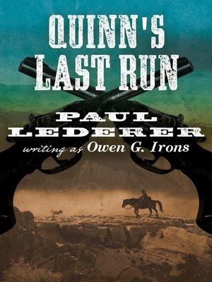 cover image of Quinn's Last Run
