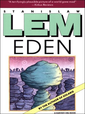cover image of Eden