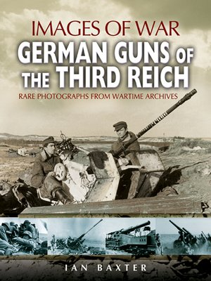 cover image of German Guns of the Third Reich