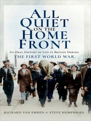 cover image of All Quiet on the Home Front