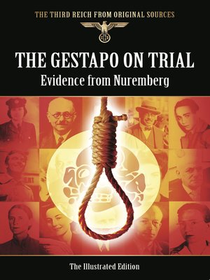 cover image of The Gestapo on Trial