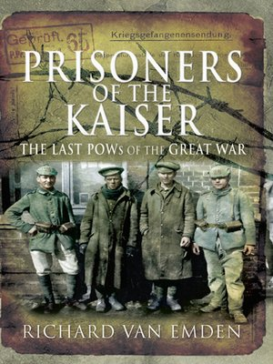 cover image of Prisoners of the Kaiser