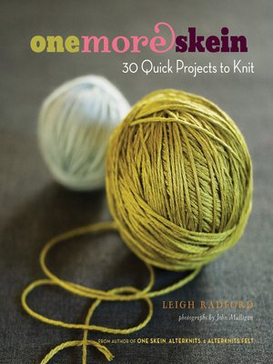 cover image of One More Skein
