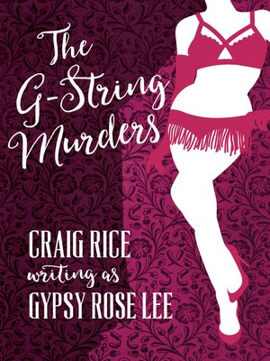 cover image of The G-String Murders