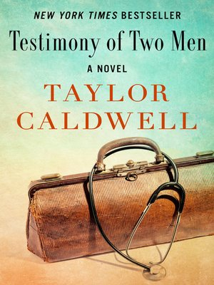 cover image of Testimony of Two Men