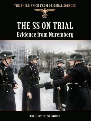 cover image of The SS on Trial