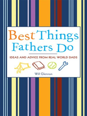 cover image of Best Things Fathers Do