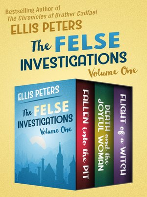 cover image of The Felse Investigations Volume One