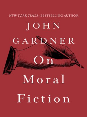 cover image of On Moral Fiction