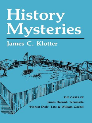 cover image of History Mysteries