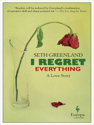 cover image of I Regret Everything