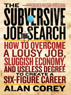 cover image of The Subversive Job Search