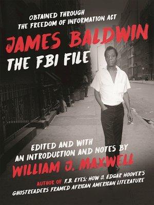 cover image of James Baldwin