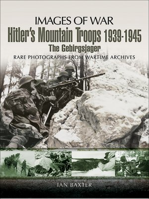 cover image of Hitler's Mountain Troops, 1939–1945