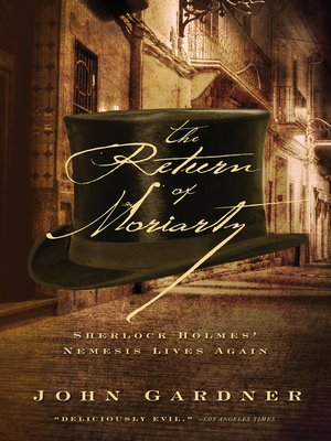cover image of The Return of Moriarty