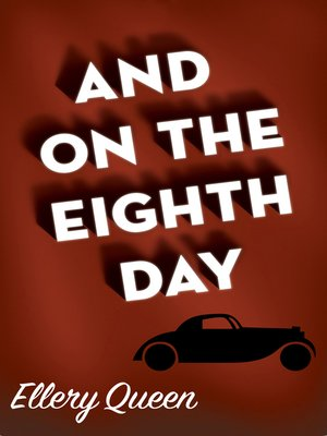 cover image of And on the Eighth Day