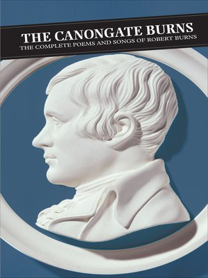 cover image of The Canongate Burns